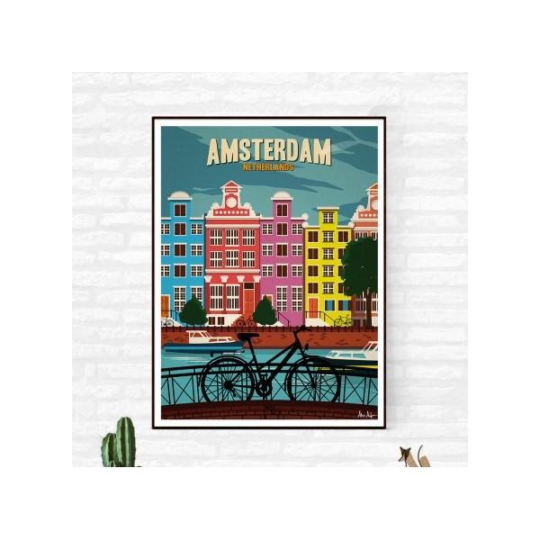 "Illustration ""Amsterdam"""