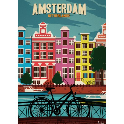 "Illustration ""Amsterdam"""