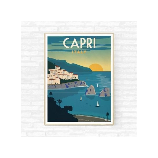 "Illustration ""Capri"""
