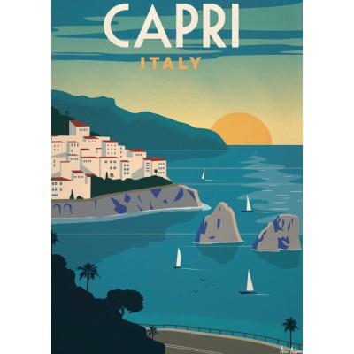 """Capri"" Illustration"