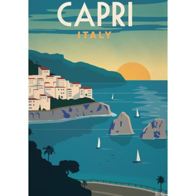 "Illustration ""Capri"""