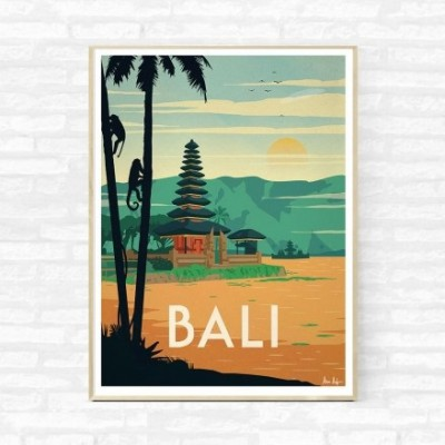 """Bali"" Illustration"