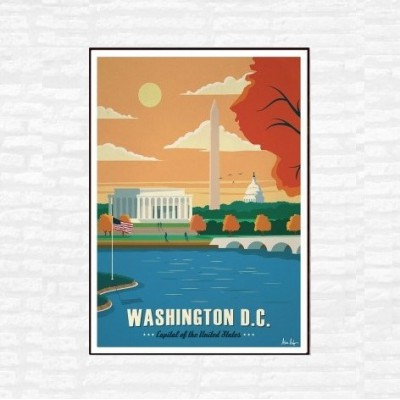 """Washington"" Illustration"