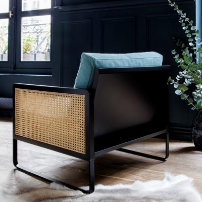 Riviera Cotton Cannage Armchair