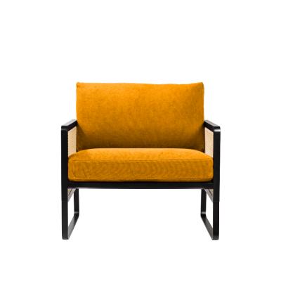 Ocre coton Cannage Armchair