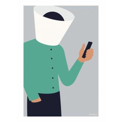 """""""Tinder detox"""" illustration"""