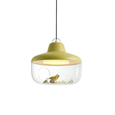 Suspension Vitrine Favourite Things jaune