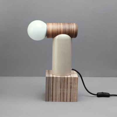 Lampe Placage