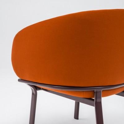 Grace Armchair Orange
