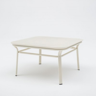 Table basse Grace Carrée blanche