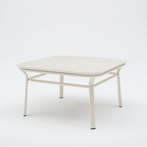Table basse Grace Carrée blanche