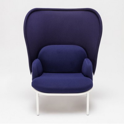 Mesh Armchair Large Shield Blue