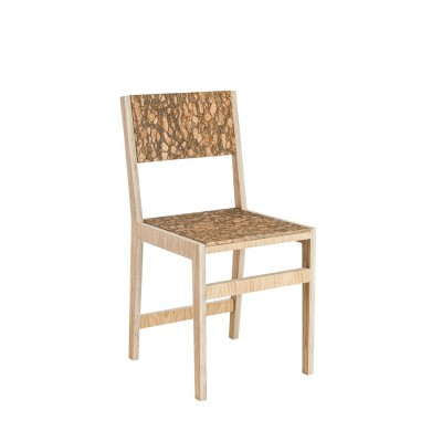 Ludity Chair Plain Leather Cork