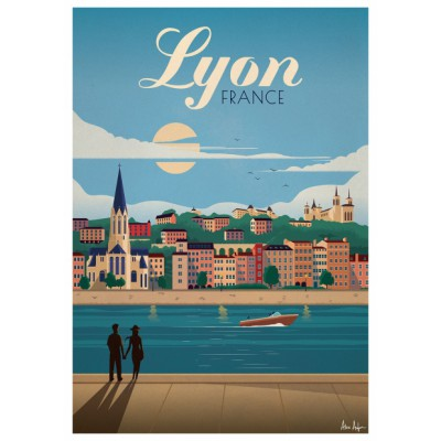 """Lyon"" Illustration"