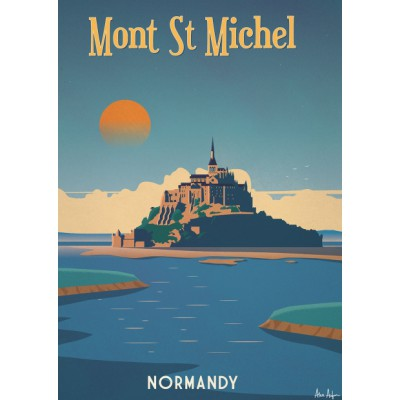 "Illustration ""Mont Saint Michel"""