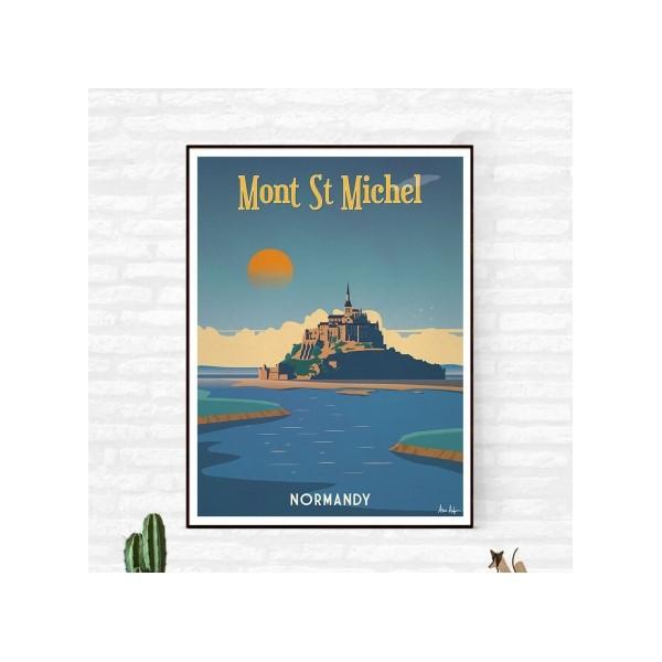 """Illustration """"Mont Saint Michel"""""""