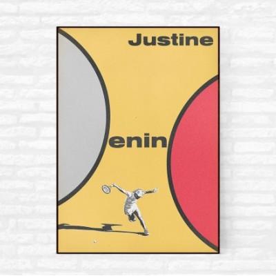 """""""Justine Henin 2"""" Illustration"""