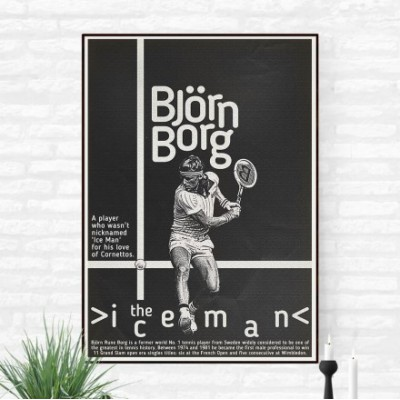 "Illustration ""Bjorn Borg 3"""