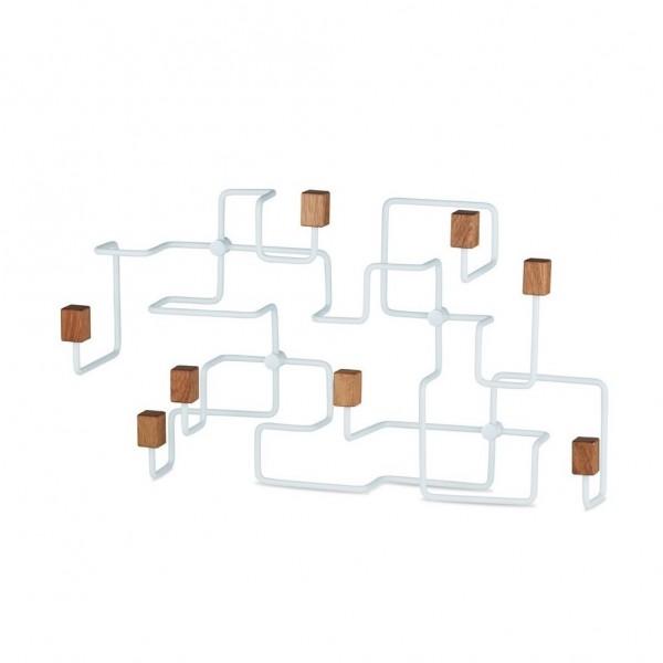 UNDERGROUND Coat Rack Oak White