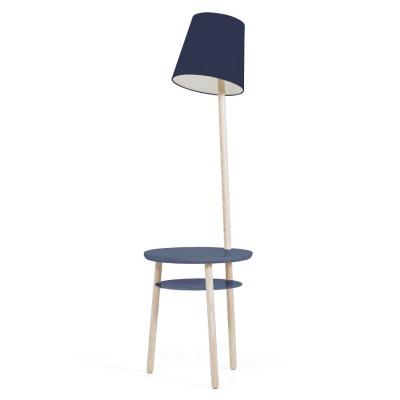 Lampe Guéridon Josette Bleu marine