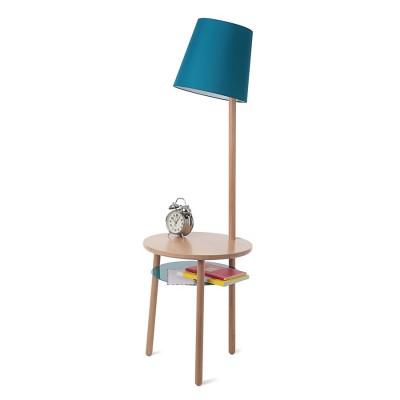 Lampe Guéridon Josette Couleur Bleu d'eau