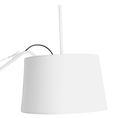 White Elizabeth Floor lamp