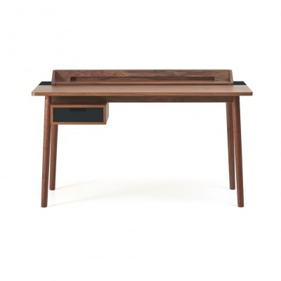 Honoré Desk walnut and grey dark