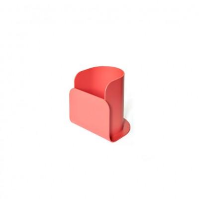 Pot à crayon rouge