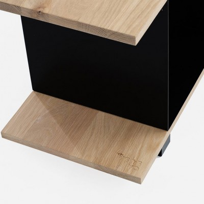 Large Qubik Shelves Black