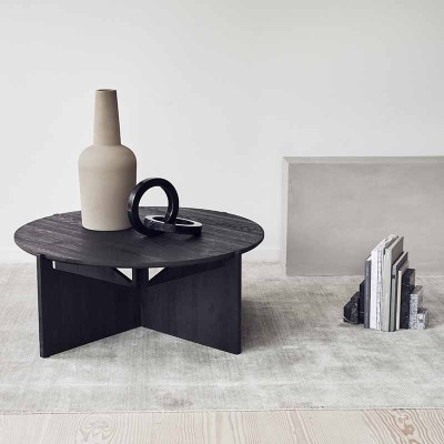 Grande table basse Chêne Noir