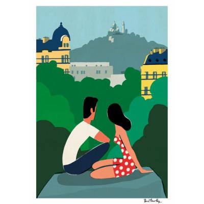 """""""Les Buttes Chaumont"""" Print"""