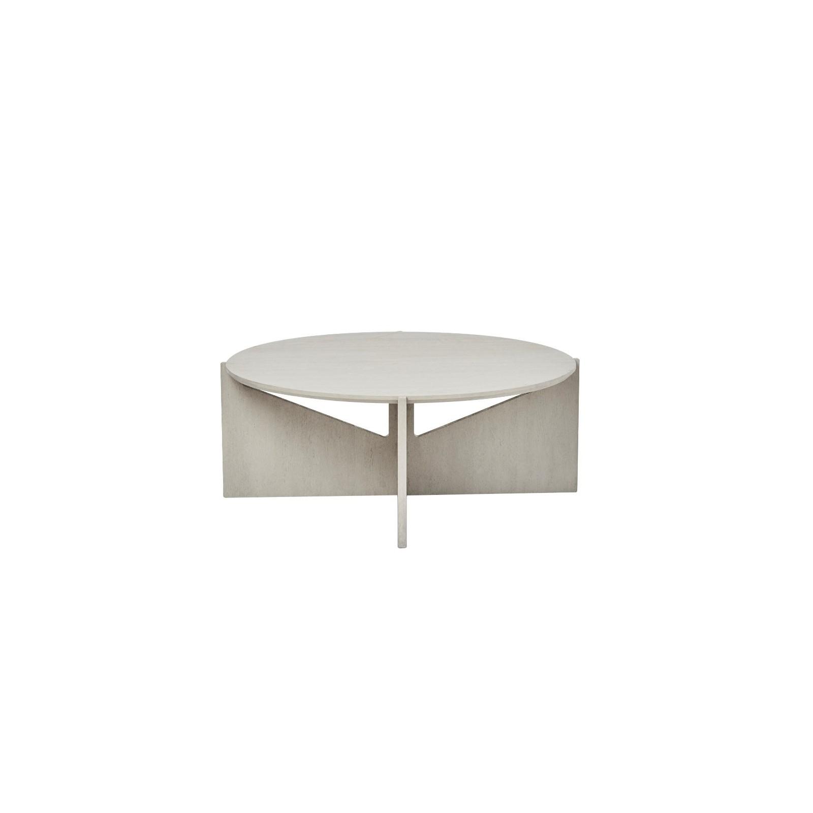 grande table basse ch ne gris arne concept. Black Bedroom Furniture Sets. Home Design Ideas