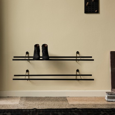 Shoe Rack Black