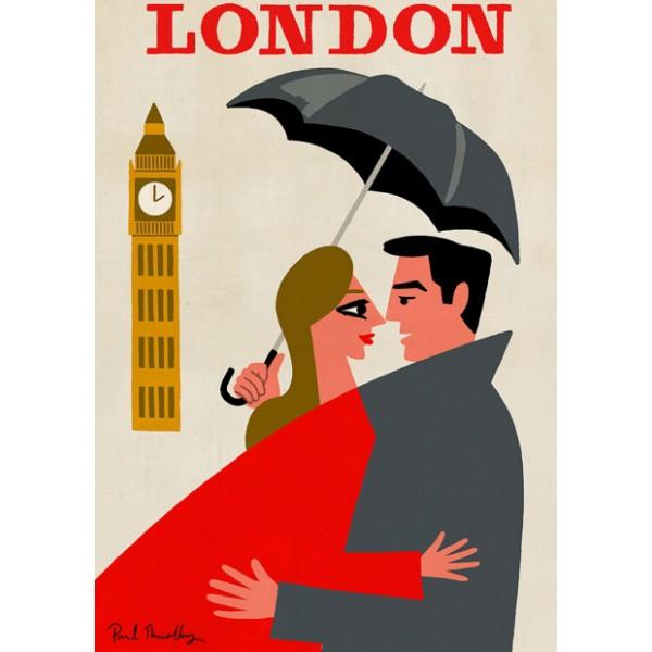"""Affiche """"London"""""""