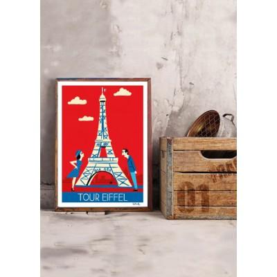 """Affiche """" Paris"""""""