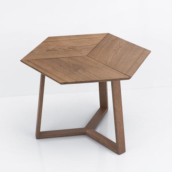 Table 3D Danoise chêne teinté