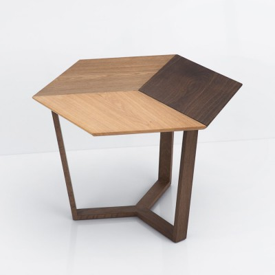 Kant Table 3 tones of Oak Base smoked