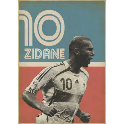 """Zidane"" Illustration"