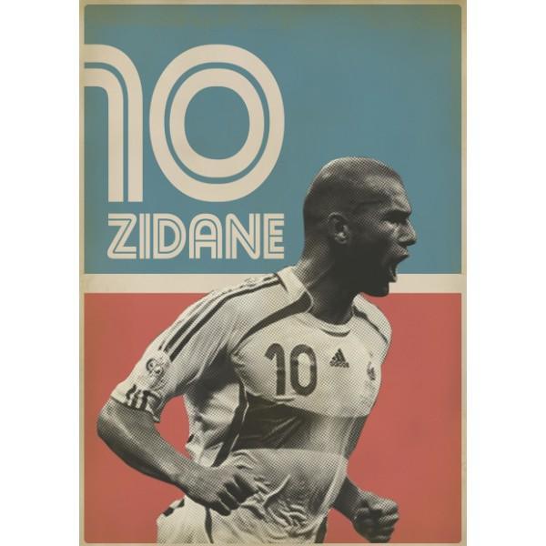 """Illustration """"Zidane"""""""