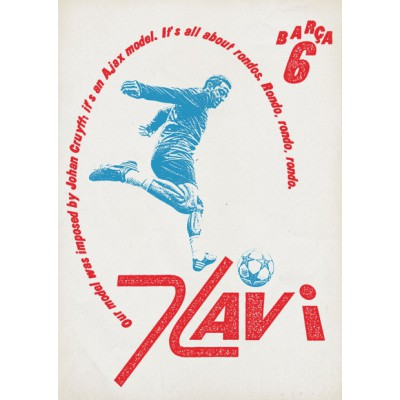 """Xavi 4"" Illustration"