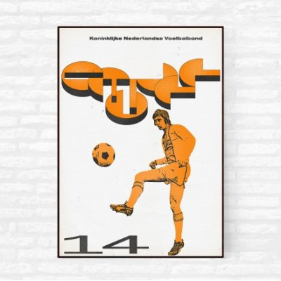 """Cruyff 5"" Illustration"