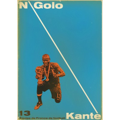 "Illustration ""Ngollo Kante"""