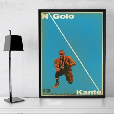 """Ngollo Kante"" Illustration"