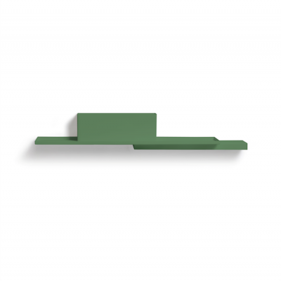 Green Duplex Wall Shelve