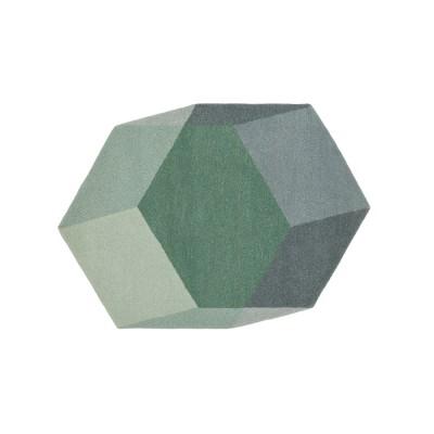 Tapis Relief vert