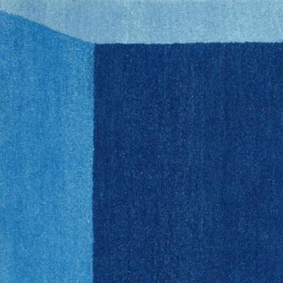 Tapis Iso Bleu