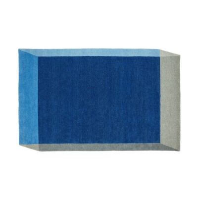 Iso Rug Blue Rectangle