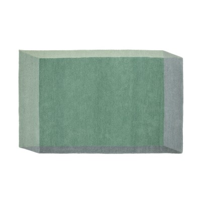 Iso Rug green Rectangle