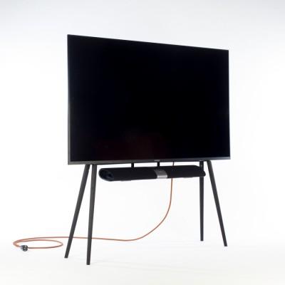 Support TV Chêne foncé