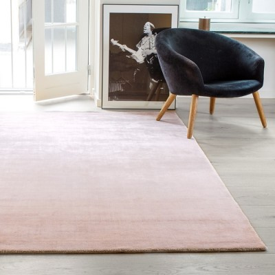 Bambou Rug Rose Dust